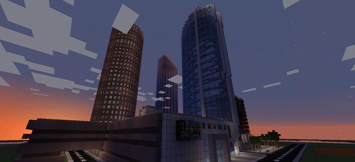 Construction virtuelle de Lyon dans Minecraft - le serveur tourne toujours
