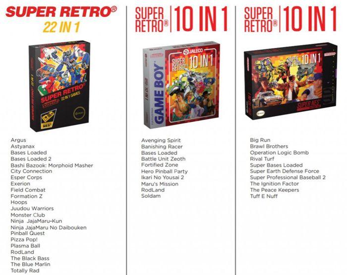 La Game Boy relancée en 2017 — Super Retro Boy