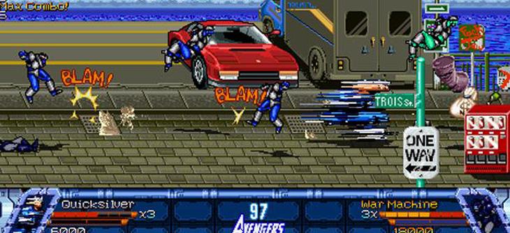 Avengers United Battle Force - un jeu OpenBor qui vise l