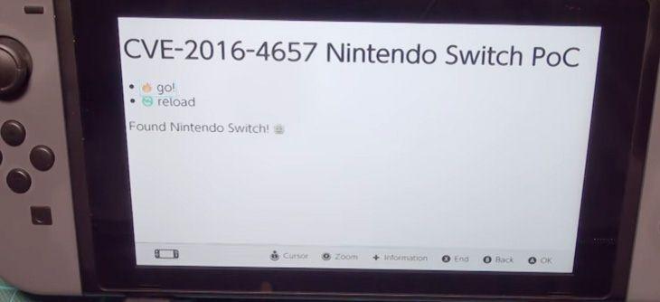 Pour hacker la Nintendo Switch, certains passent par son navigateur
