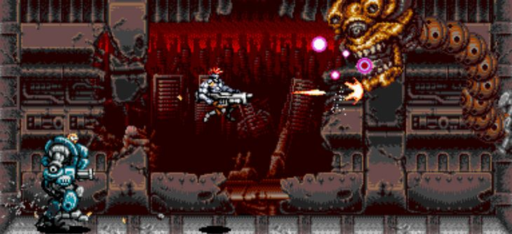Blazing Chrome - un teaser d