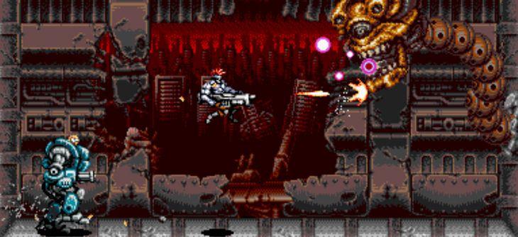 Blazing Chrome - un teaser d'enfer pour le jeu hommage à Contra