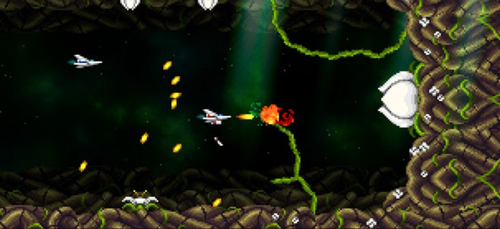 Super Hydorah - le shoot'em up de Locomalito reprend du service !