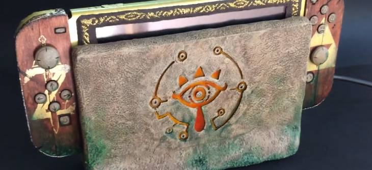 Sheikah Switch Mod - la fabuleuse Nintendo Switch Zelda Breath of the Wild de MakoMod
