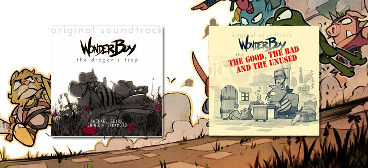 Remake de Wonder Boy III The Dragon's Trap - carnets de musique