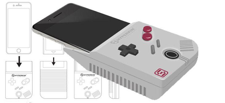 Et votre téléphone portable se mua en Nintendo Game Boy