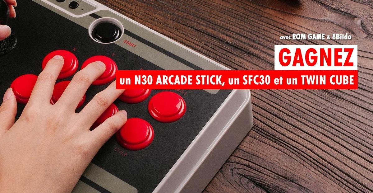 Concours 8Bitdo - un Stick Arcade, des enceintes Twin Cube