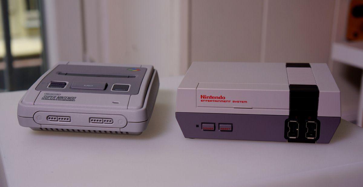 Un hack transforme la SNES Mini en NES Mini