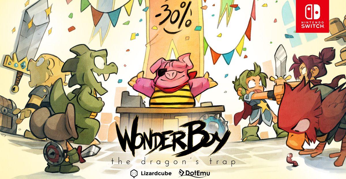Wonder Boy The Dragon