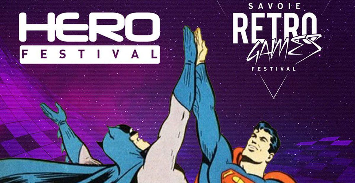 Le Savoie Retro Games et le HeroFestival officiellement main dans la main