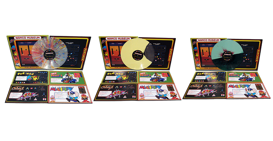 Namco Museum: Arcade Greatest Hits arrive en vinyle !