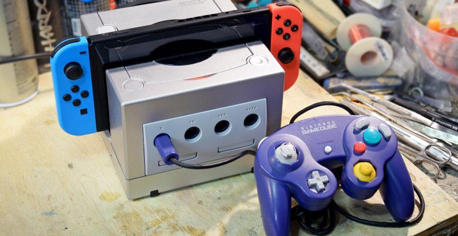Le dock Gamecube pour Nintendo Switch du doc Frankenstein