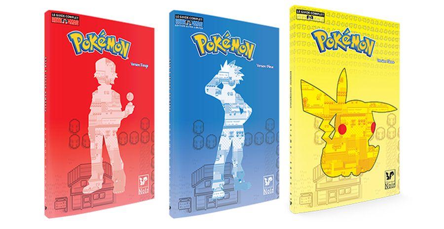 Guide complet Pokémon Bleu, Rouge, Jaune chez l