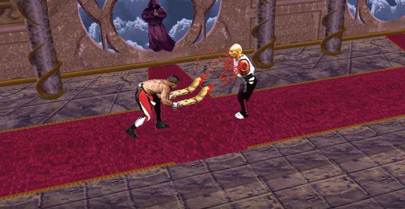 Fatal - Mortal Kombat 2 revu et corrigé par la 3D