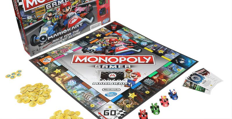 Monopoly Gamer: Mario Kart - collectionneurs à vos marques...