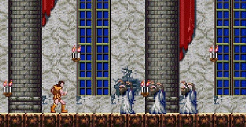 Un hack rehausse les couleurs et les sons de la version NES de Castlevania