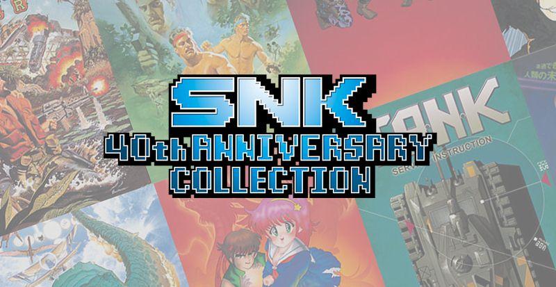 SNK soufflera ses 40 bougies sur Switch