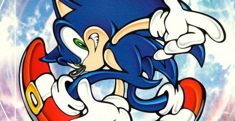 Dreamcast - Le site de Sonic Adventure entièrement sauvé de l