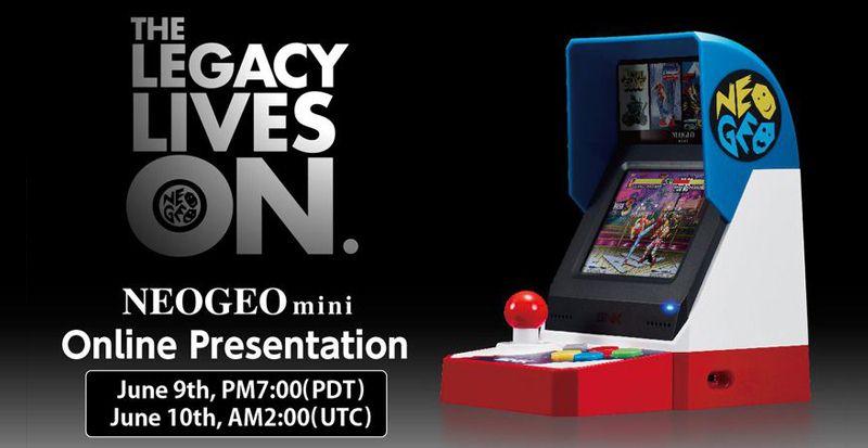Neo Geo Mini - les infos viendront depuis l