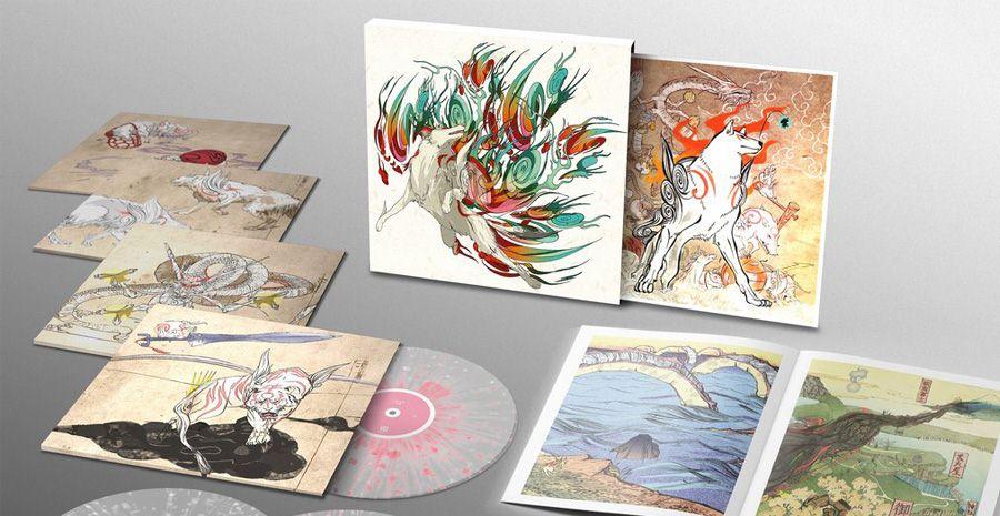 Un superbe coffret vinyle pour Ōkami