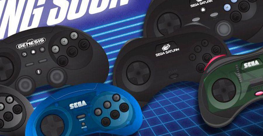 Manettes officielles Sega Dreamcast, Saturn et Mega Drive - enfin les dates et les prix !