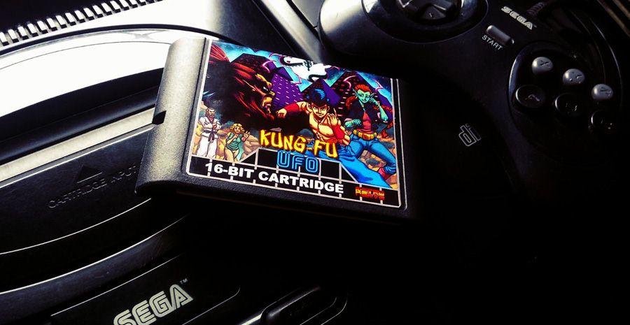 Kung-Fu UFO, future pépite homebrew de la SEGA Mega Drive
