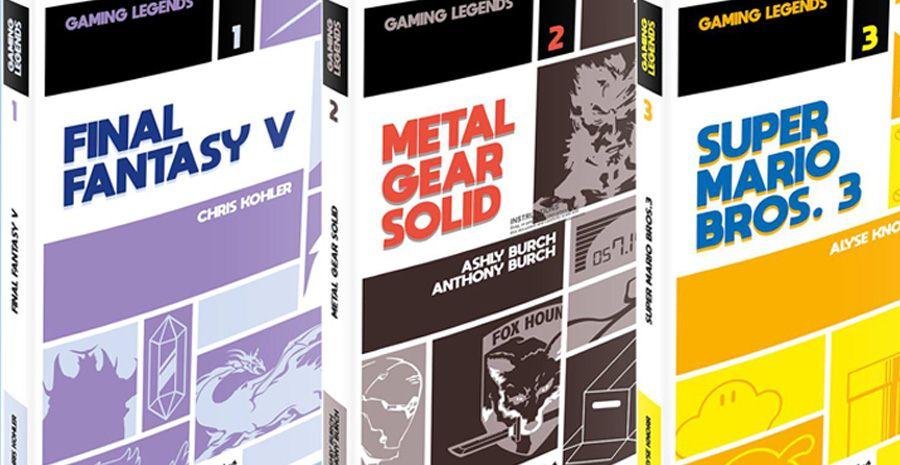 Gaming Legends, la nouvelle collection signée Omake Books