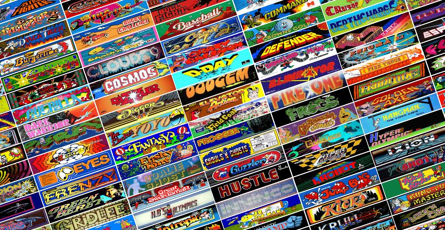 The Internet Arcade - 1100 jeux viennent grossir la collection jouable en ligne !