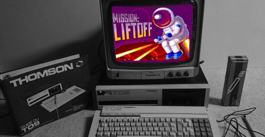 Avec Mission: Liftoff, les Thomson TO8 et TO9 humilient le CPC et la NES !