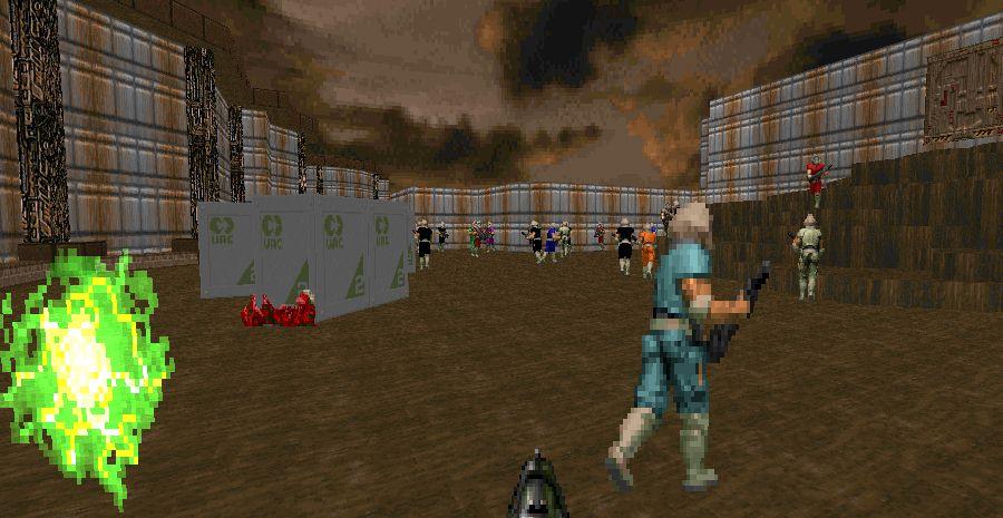 Mod Battle Royale à 64 joueurs pour Doom - un joyeux bordel !