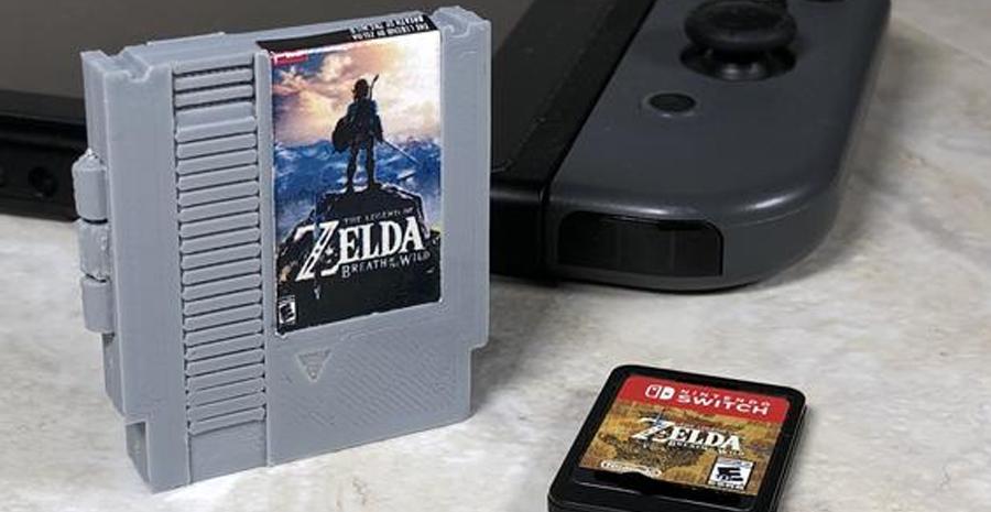 Des boîtiers personnalisés NES et SNES pour vos jeux Switch