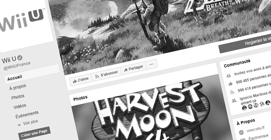 Ce sans coeur de Nintendo ferme la page Facebook officielle de la Wii U