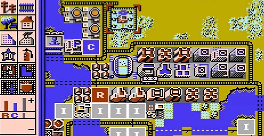 Le prototype de la version NES de Sim City est enfin jouable !