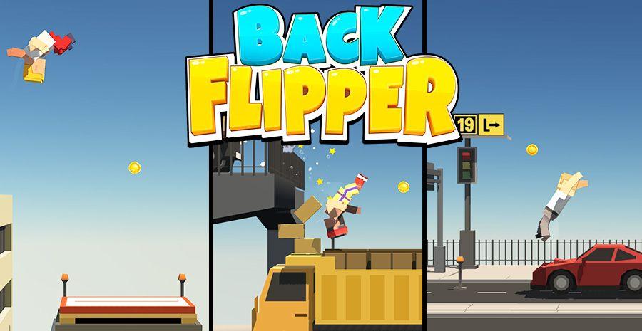 Backflipper - saut de l