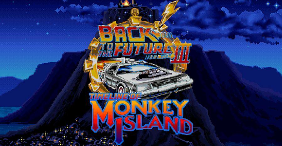 Back to the Future Part III: Timeline of Monkey Island - le génial crossover est disponible gratuitement !