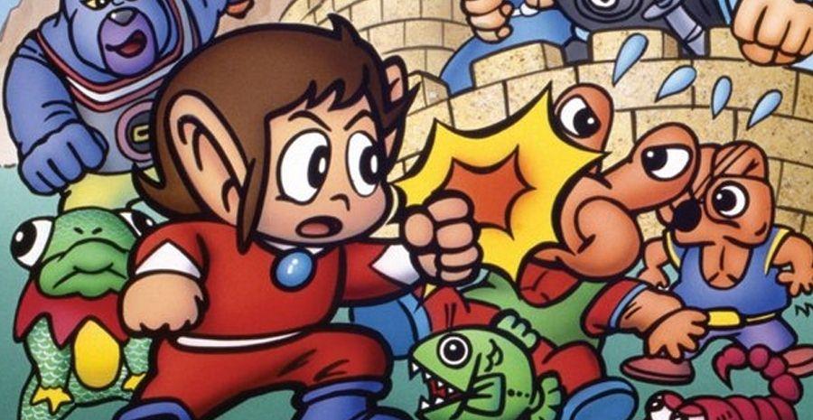 SEGA AGES - Alex Kidd In Miracle World déboule sur Nintendo Switch