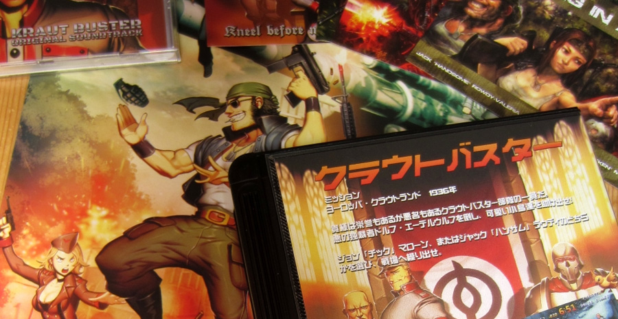 Kraut Buster - le run and gun sort enfin sur Neo Geo MVS, l