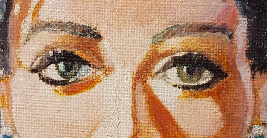 Maupiti Island - la toile originale de la jaquette mise en vente aux enchères !