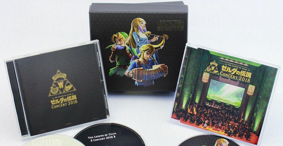 Legend of Zelda Concert 2018 - le très beau coffret est disponible !