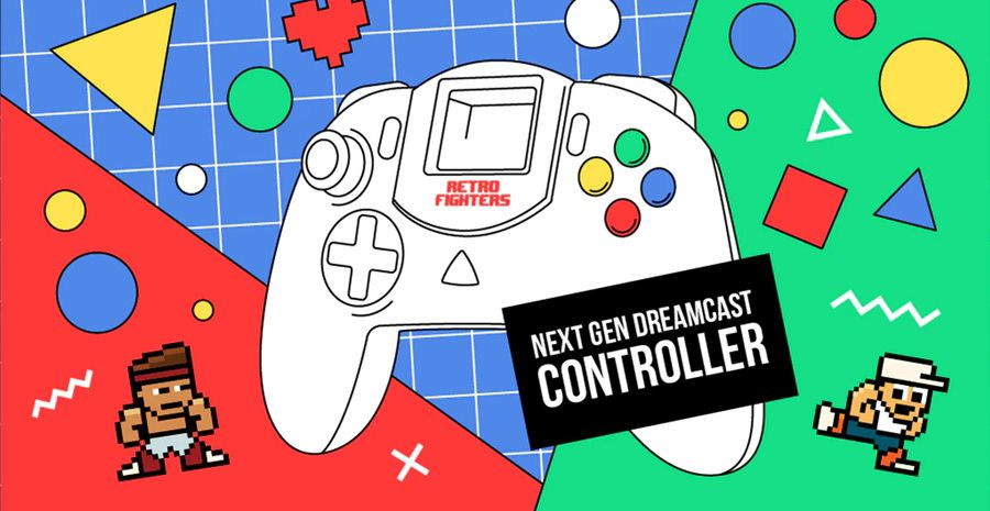 Retro Fighters - la manette Next Gen pour Dreamcast cartonne