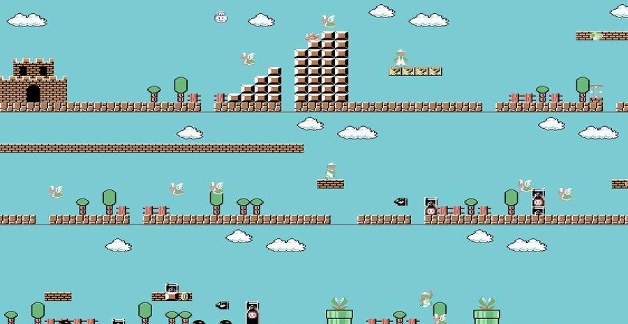 Nintendo abat en plein vol le portage de Super Mario Bros sur C64