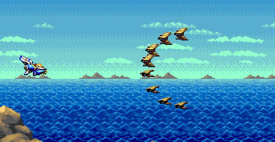 IRENA - le futur shmup Mega Drive qui a vraiment fière allure !