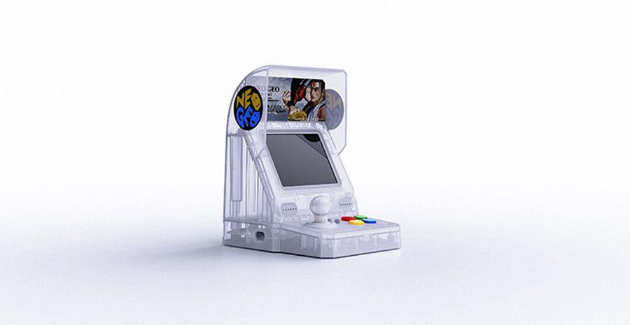 La Neo Geo Mini se décline aux couleurs de Samurai Shodown