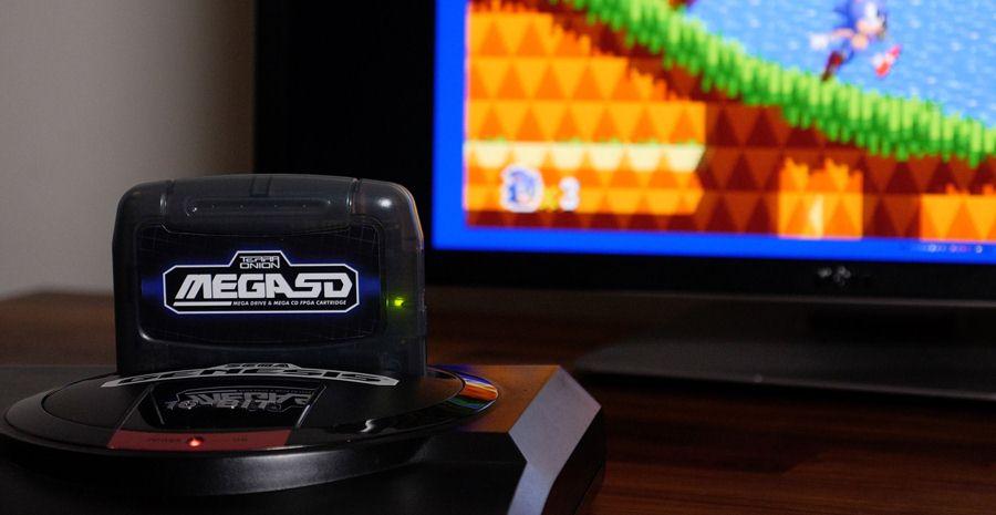 MegaSD - une cartouche FPGA pour lancer les jeux Mega CD sur votre Mega Drive !