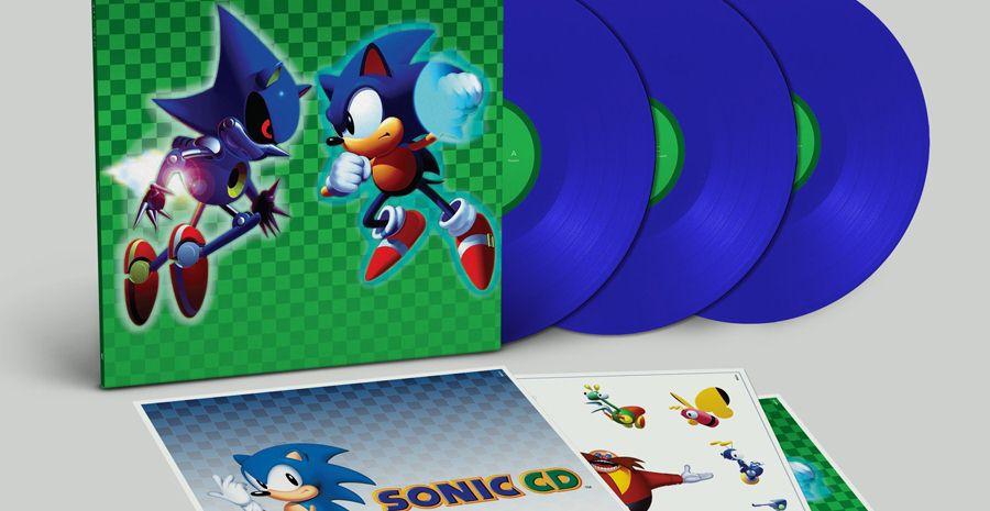 Un vinyle chez Data Discs pour Sonic CD !