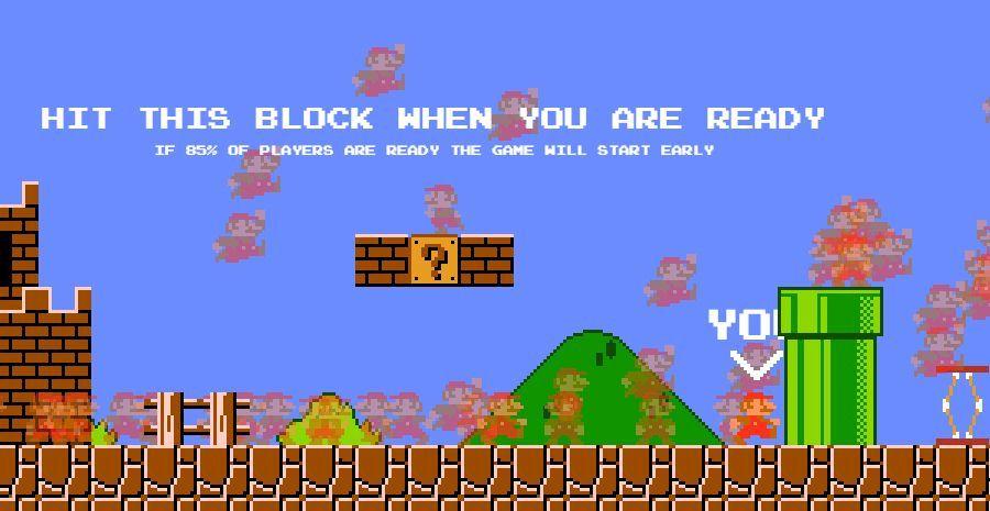 Mario Royale - Super Mario Bros en ligne à 100 joueurs !