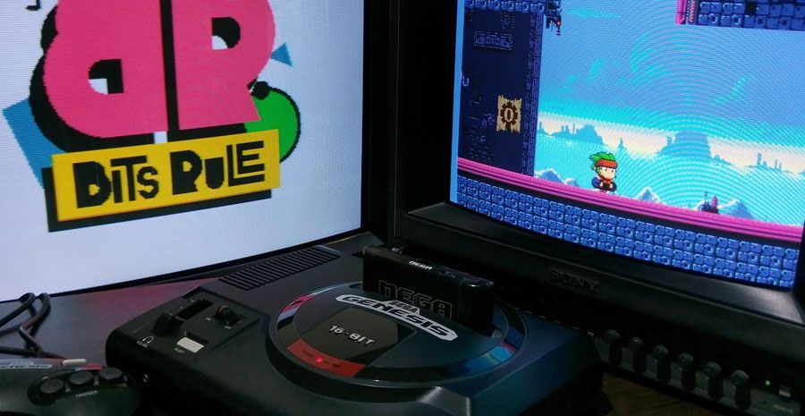 Avec Phantom Gear, Bits Rule Games cherche à tutoyer les limites de la SEGA Mega Drive