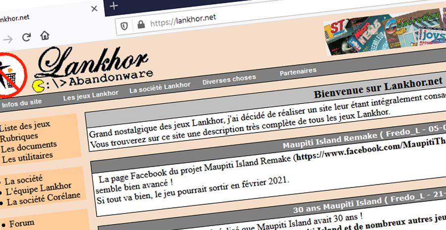Episode I - Lankhor.net: 20 années de passion !