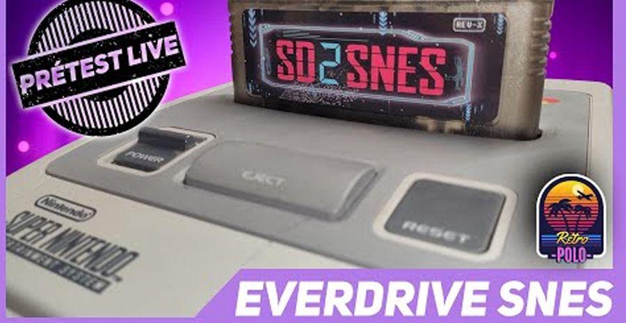 Pré TEST : Everdrive SNES premium d'Aliexpress [Replay live du 8/10/20]