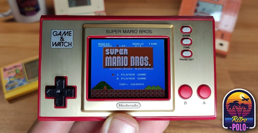 Game and Watch Super Mario Bros : Découverte !